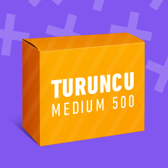 Turuncu Medium 500 Paketi